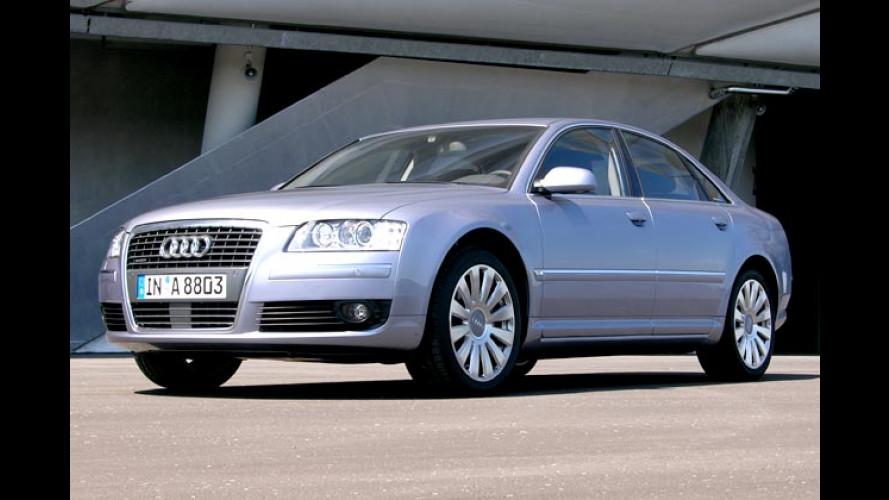 Audi A8 4.2 TDI (2005) im Test: Äußerst kultivierter Single mit Kraft