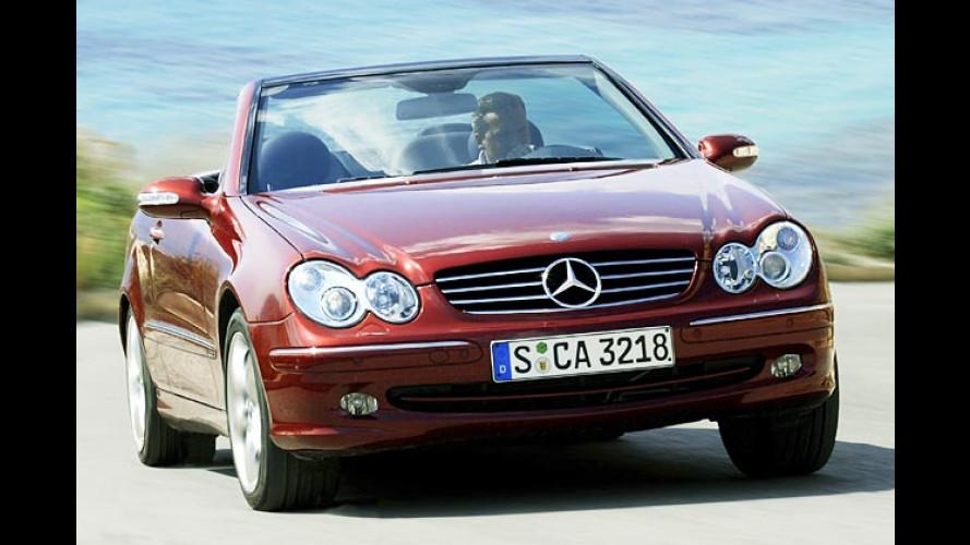 Mercedes CLK: Neue Technik für mehr Fahrspaß