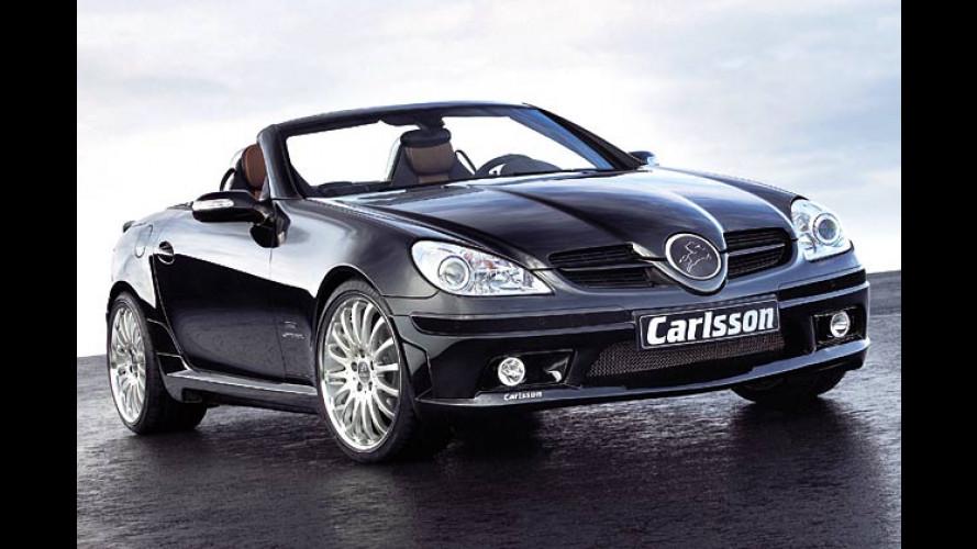 Carlsson macht richtig Druck: Mehr Leistung für den SLK 200