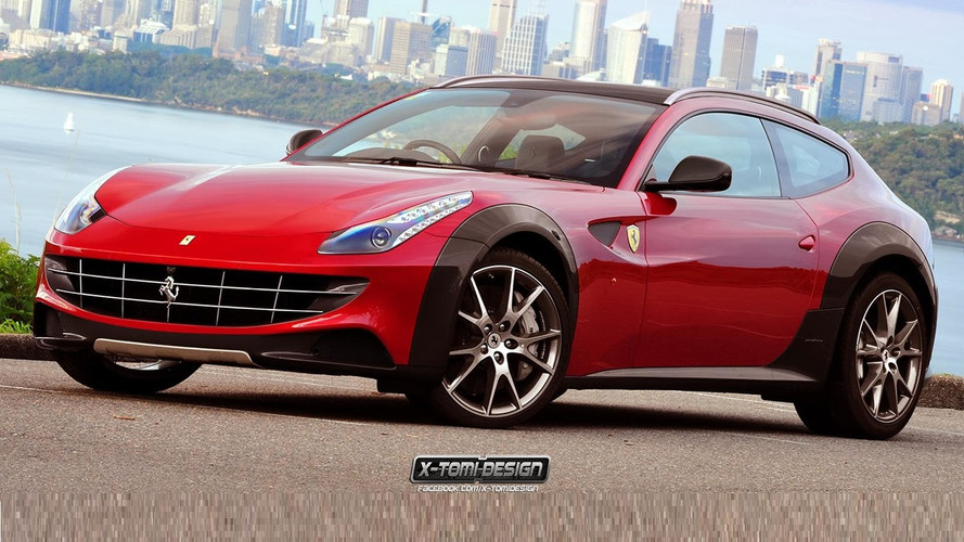 """Ferrari Utility Vehicle """"Will Probably Happen,"""" Says Marchionne"""