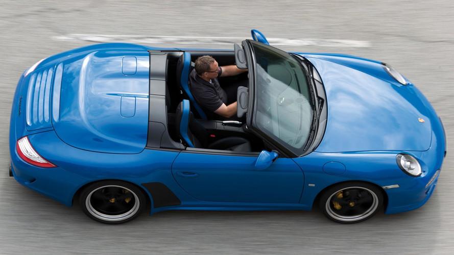 Porsche 911 Speedster To Drop Its Top In Frankfurt