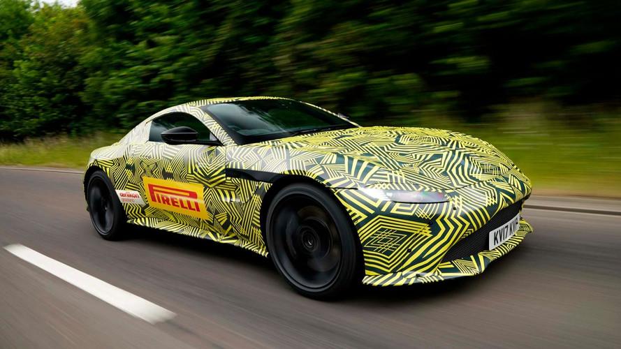 Aston Martin - La nouvelle Vantage pointe le bout de son nez
