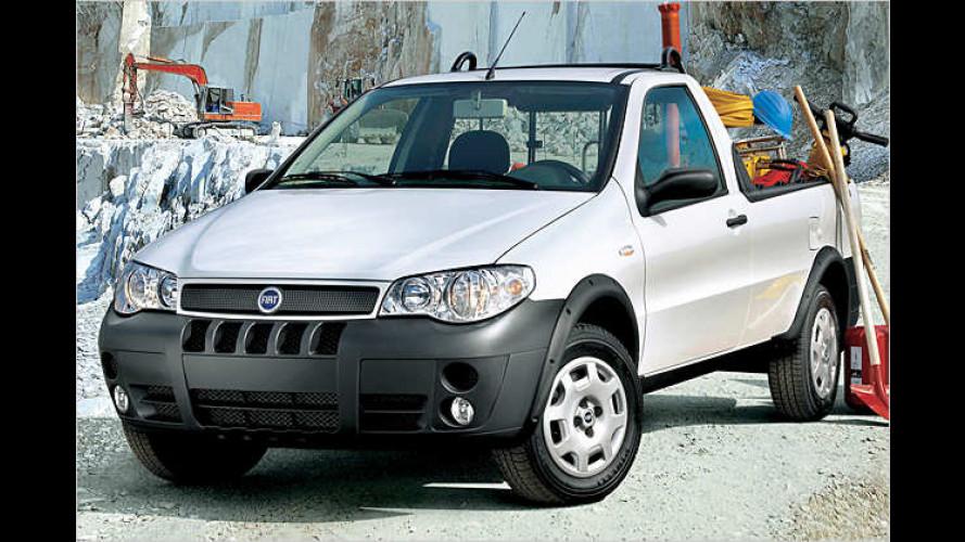 La Strada: Fiat erfrischt Straße des Transports mit Pick-ups