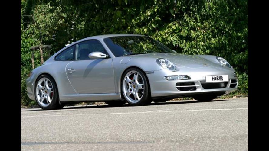 Leichte Federn: Neues Alu-Sportfahrwerk für Porsche 911