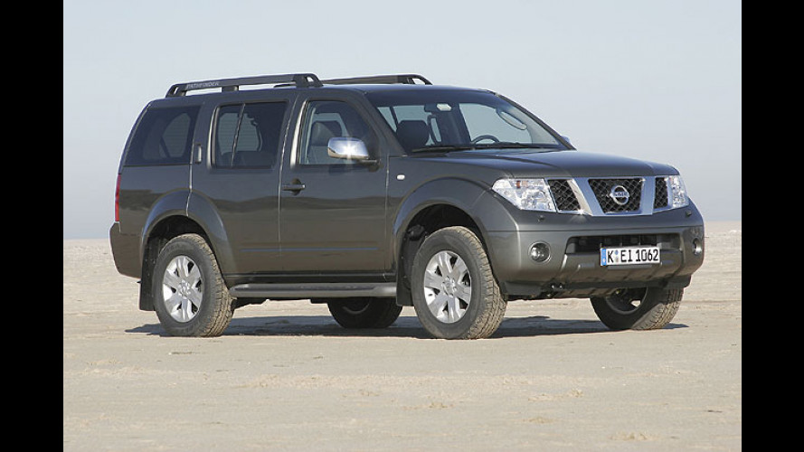 Nissan legt nach: Ab sofort V6-Power für den Pathfinder