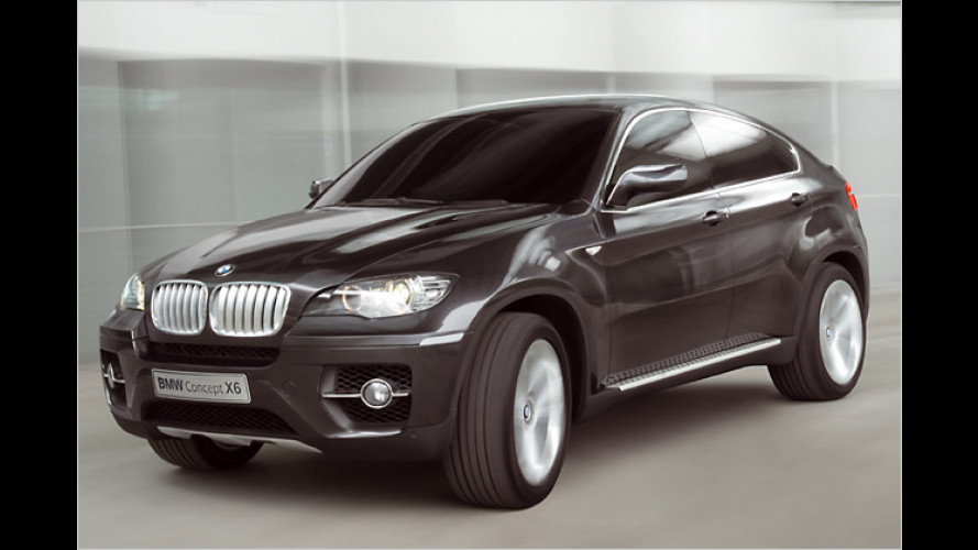 BMW X6 Concept: Innovatives Sports Activity Coupé