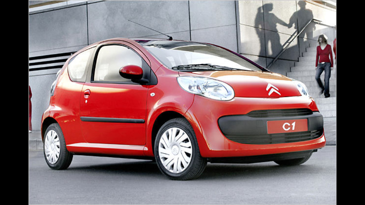 Citroën C1 1.0 Advance 3-türig