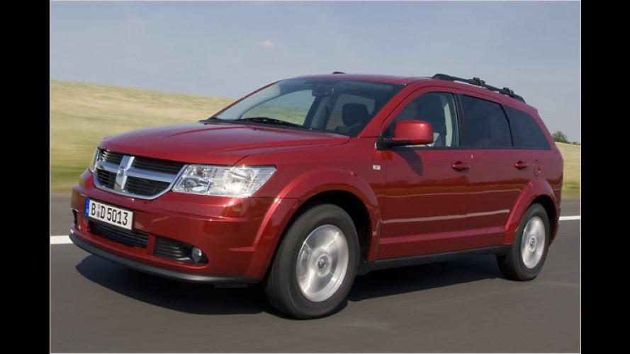Journey Eco+: Dieser Dodge fährt mit Benzin und Gas