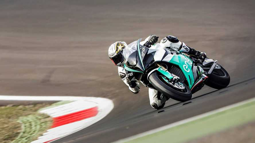 MotoE Testing Now Underway Just Three Months Post-Fire