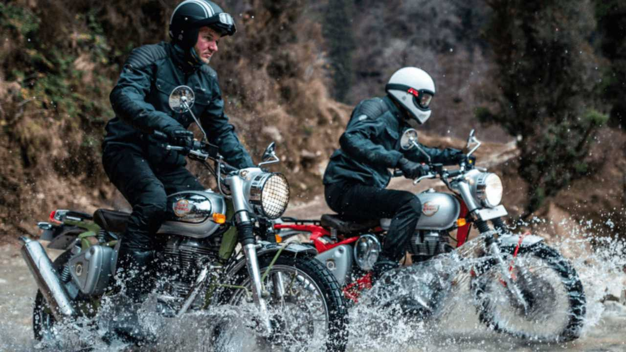 Image result for royal enfield trials