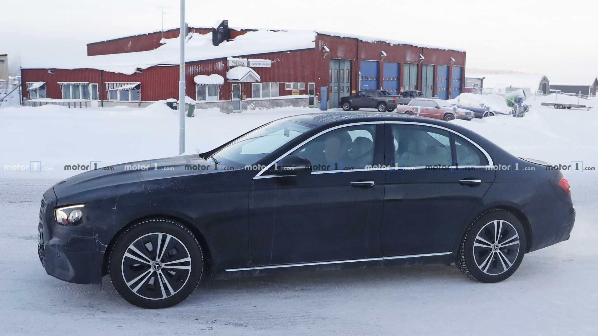 2020 Mercedes E Class Sedan Spied Inside And Out