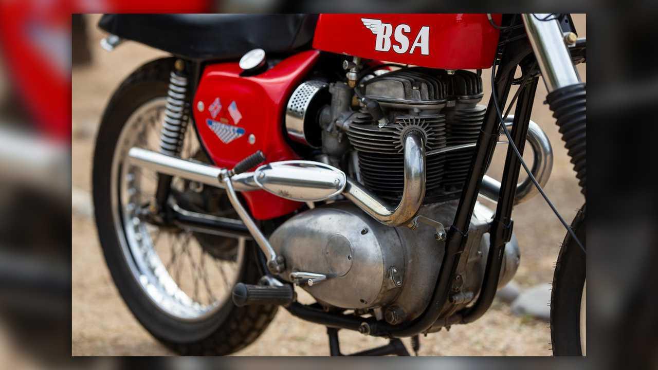 1967 BSA Hornet Desert Racer