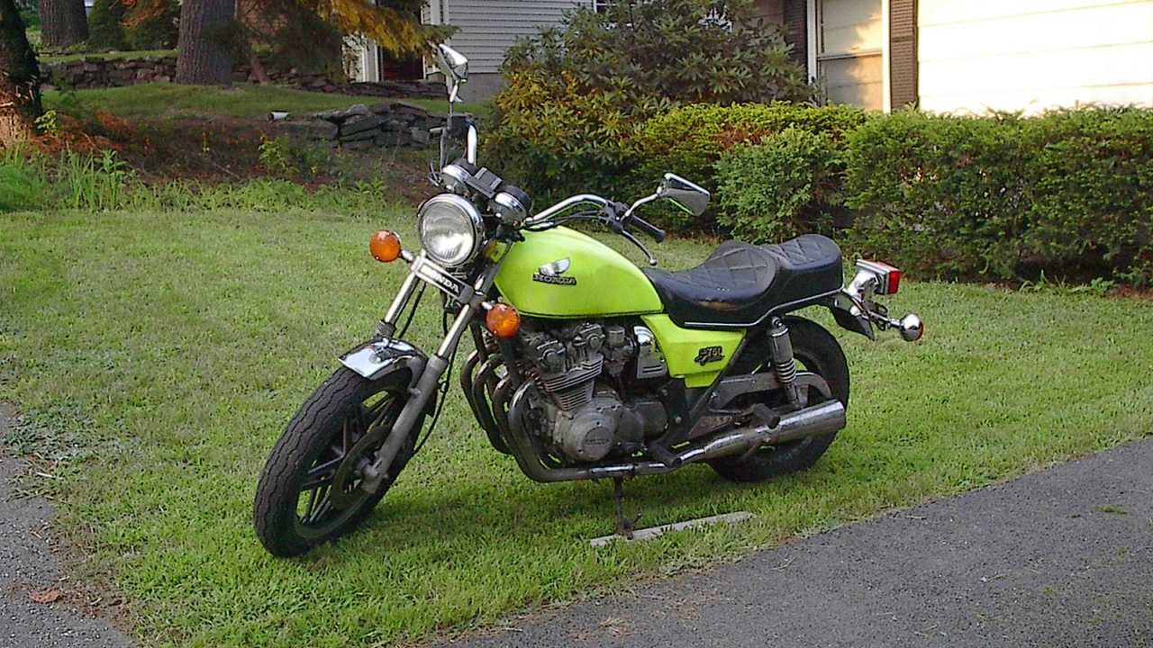 Justin's Honda CB750 Custom