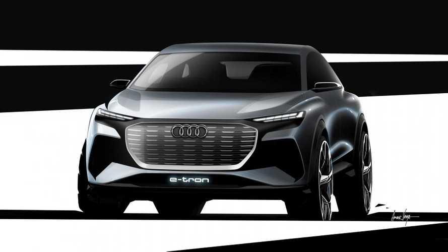 Audi commence à montrer le concept Q4 e-tron