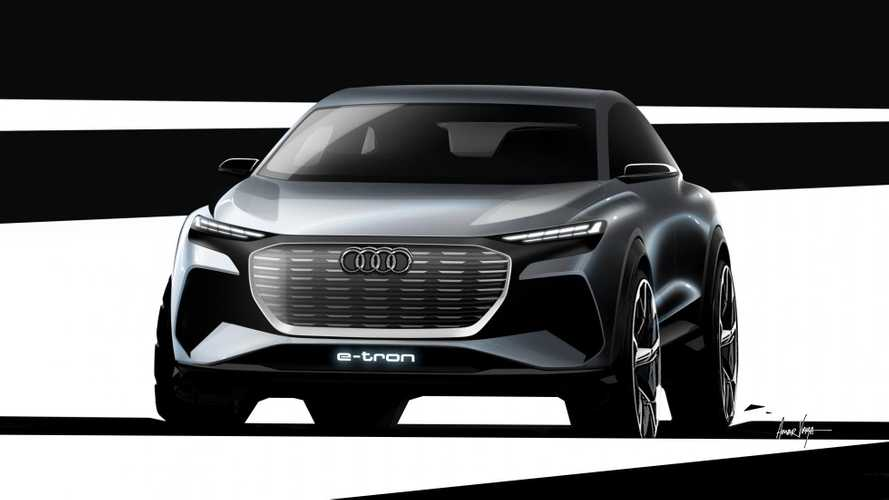 Audi Q4 e-tron teaser görselleri
