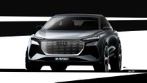 Audi Q4 e-tron teaser képek