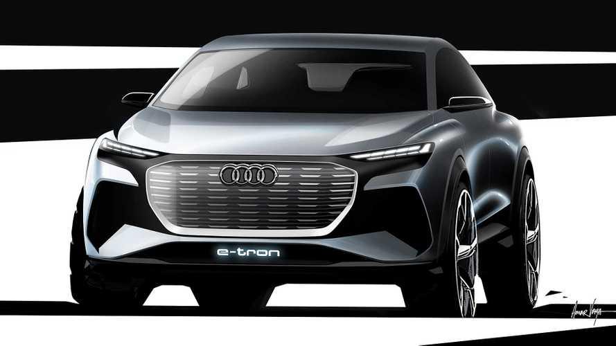 Audi Q4 e-tron concept, emissioni zero a Ginevra