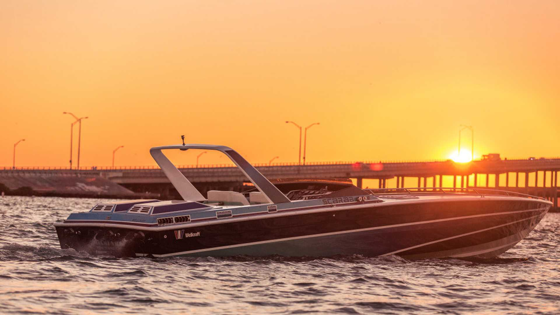 Miami Vice Boat Selling For 20m Comes With Daytona Spyder