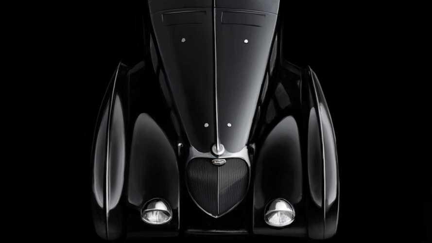 Bugatti Type 57 Atlantic La Voiture Noire
