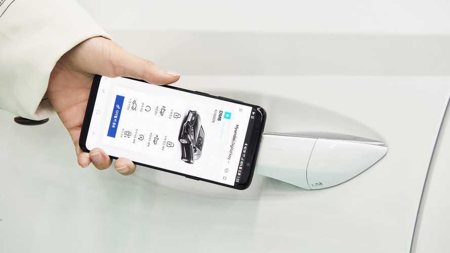 Hyundai de dijital anahtar kullanımına başlıyor