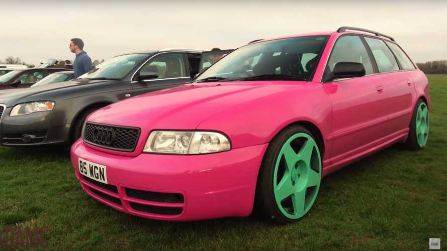 Crazy Modified Cars Out in Force at Classic Show