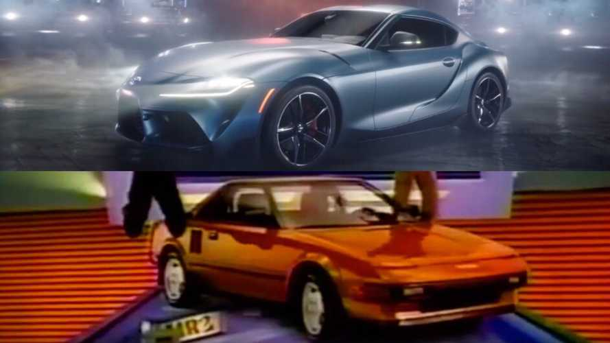 Toyota Says Supra Pinball Ad Was Not Inspired By '80s MR2 Spot