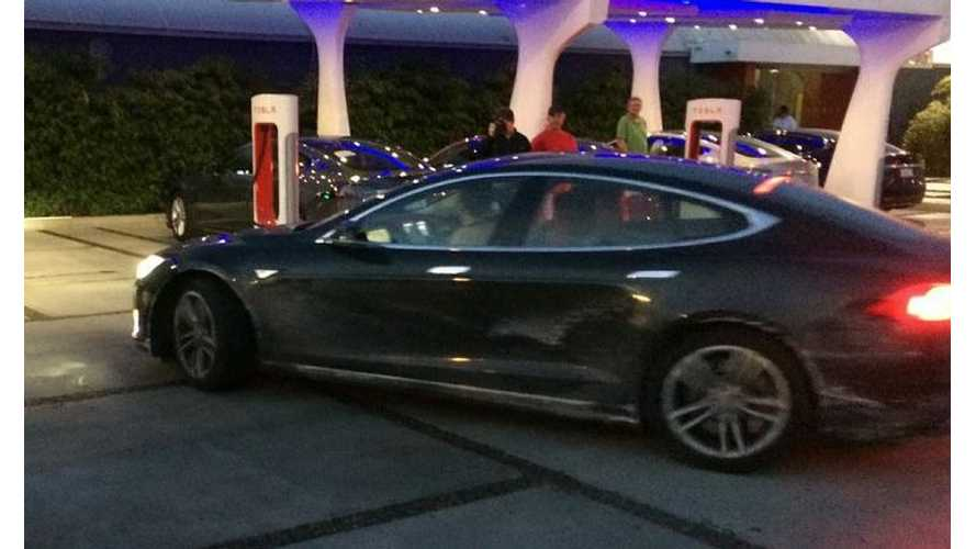 First-Ever Supercharged Tesla Model S Coast-to-Coast Road Trip is Complete