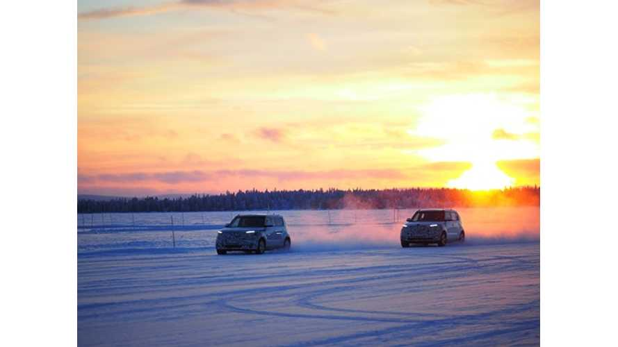 Videos From Kia Soul EV Tests in Extreme Winter
