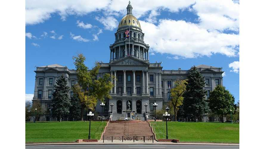 Colorado Says No to EV Chargers at State Capitol Building