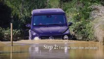 Mercedes G-Class Water Wading Video