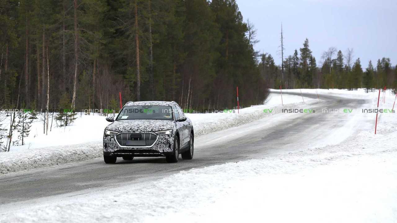 Audi e-tron Sportback Casus Fotoğrafları
