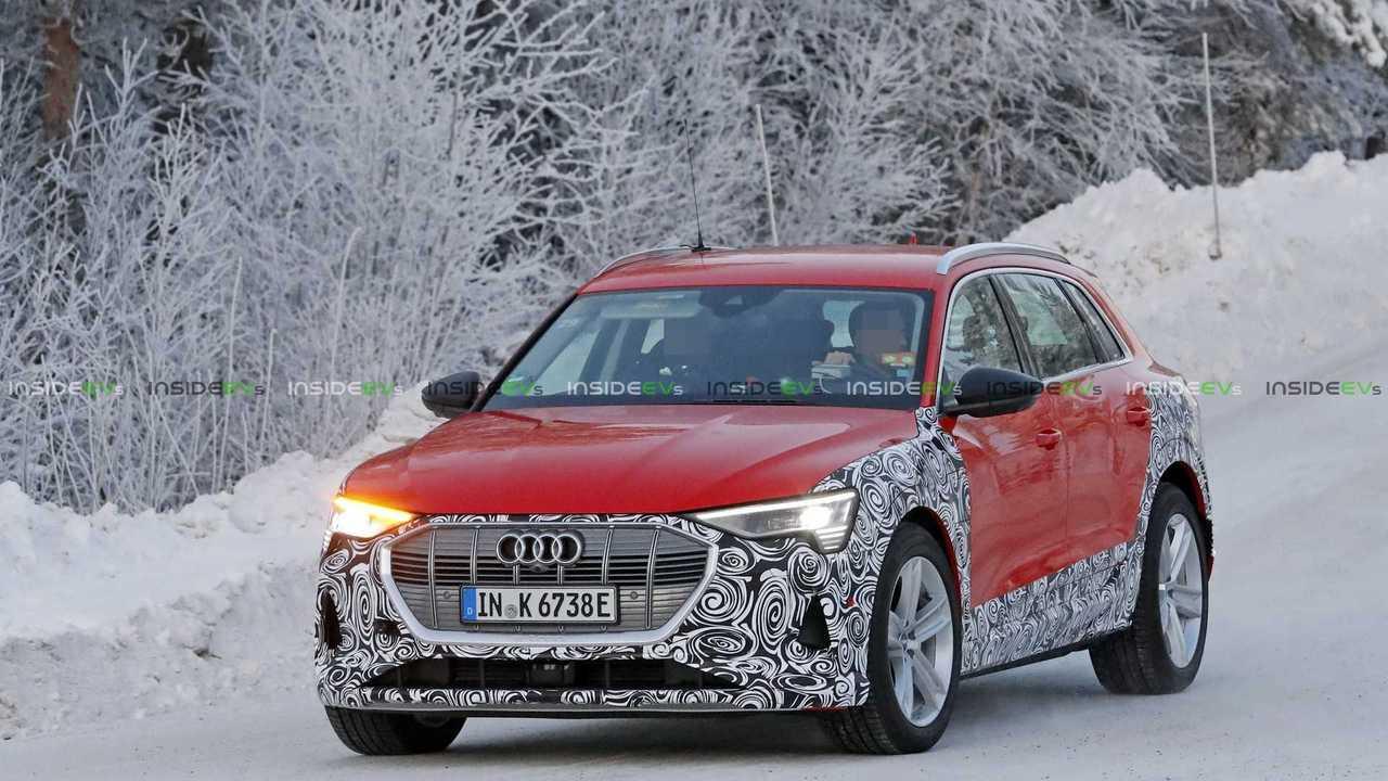 Audi e-Tron Sportback Casus Fotoğraflar