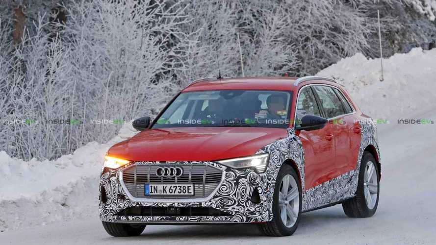 Bu araç, Audi e-tron'un Allroad versiyonu olabilir