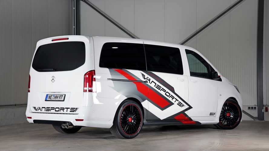 Mercedes-Benz Vito White SportsVan By Vansports