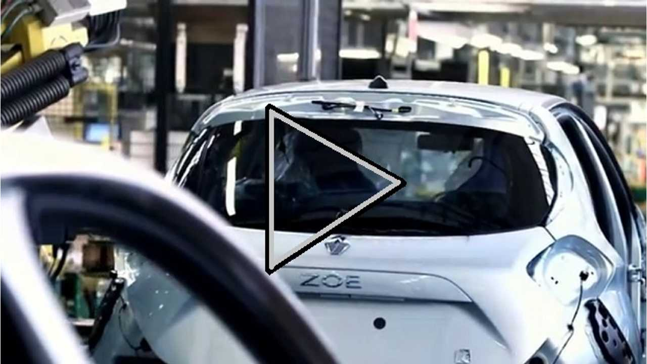 Video: Renault Zoe On The Assembly Line