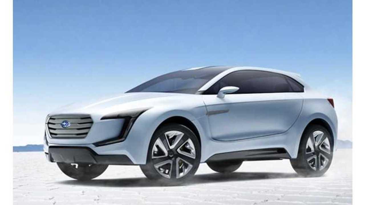 Subaru VIZIV Plug-In Hybrid Revealed In Geneva (w/ video)