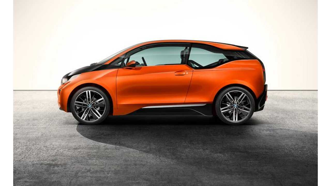 BMW i3 Coupe Concept Shown Here With 20