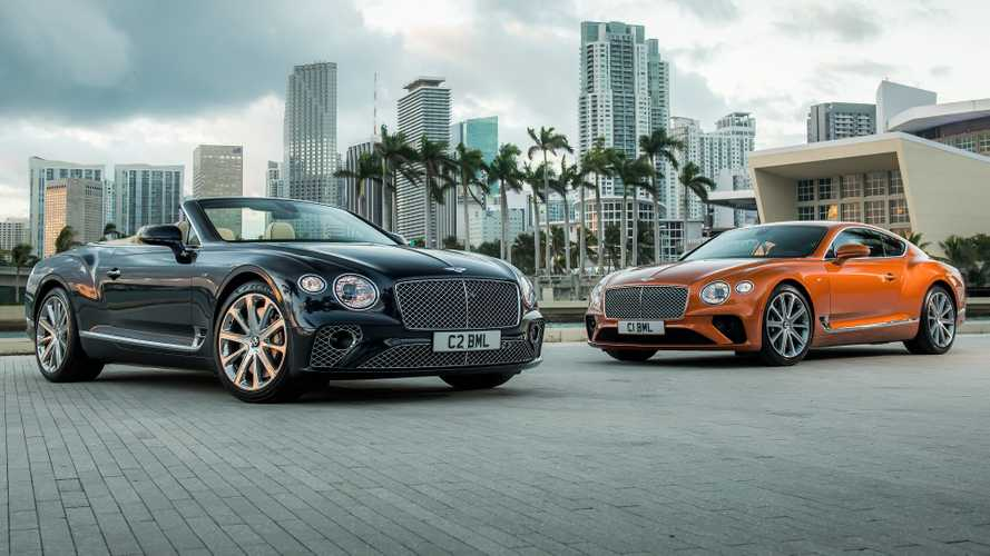Bentley Continental GT V8 debuts as 542-bhp coupe and cabrio