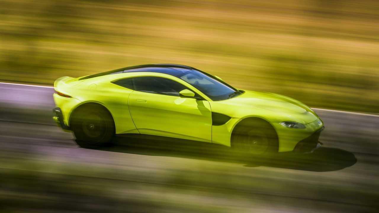 11. Aston Martin V8 Vantage - 1:20.4
