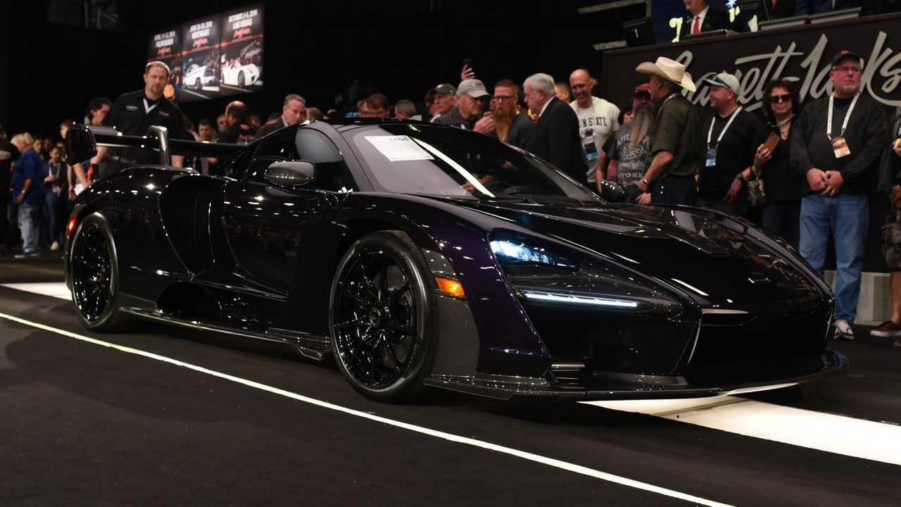 McLaren Senna auction