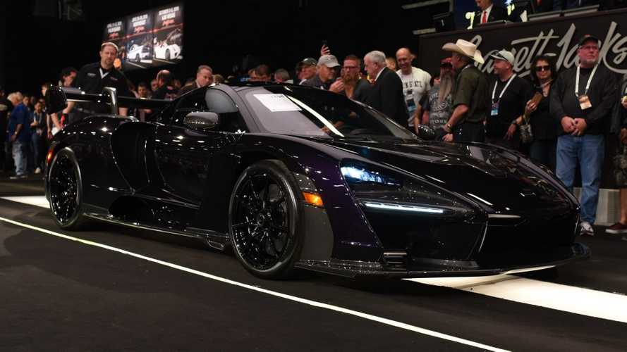 McLaren Senna grabs £1.13 million at auction [UPDATE]