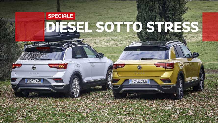 Volkswagen T-Roc, proviamo sotto stress il 1.6 TDI