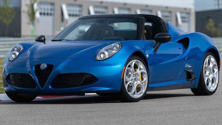2020 Alfa Romeo 4C Spider Italia Debuts In Misano Blue Paint