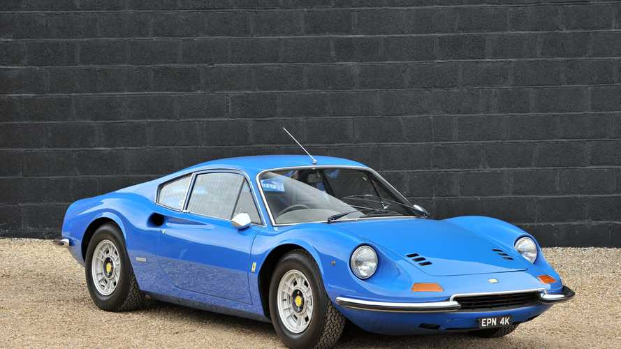 1972 model Ferrari Dino, açık artırma ile yeni sahibine kavuşacak