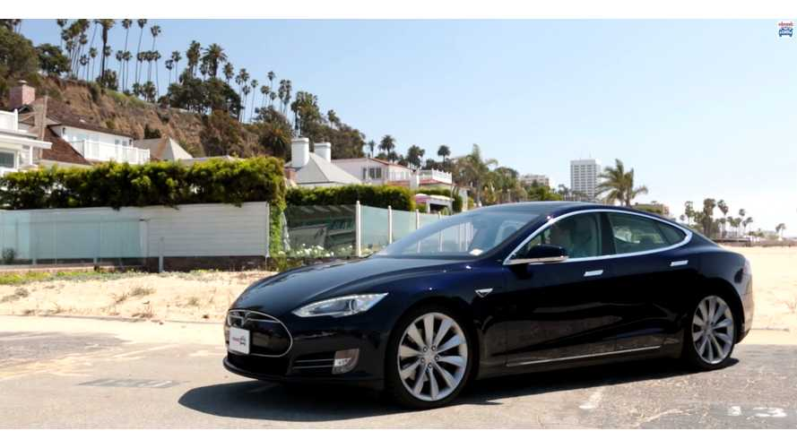 Edmunds.com Tesla Model S Video Review