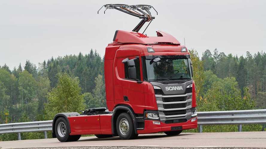Scania, camion elettrici per le autostrade tedesche