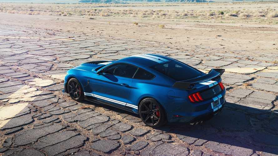 Ford Mustang GT500 стал самым мощным в истории