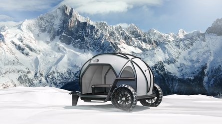 BMW Teams Up With The North Face For The Ultimate Camper