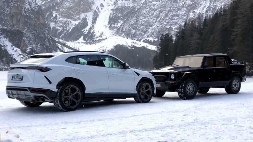 Lamborghini Urus vs LM002: The ultimate SUV shootout