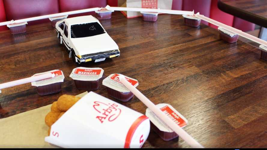 Arby's Initial D Ad Has Us Craving Roast Beef